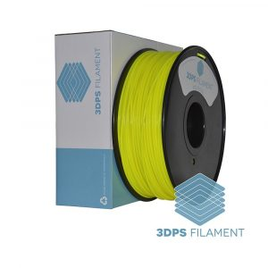 3DPS Yellow ABS 3.0mm 3D Printer filament 1