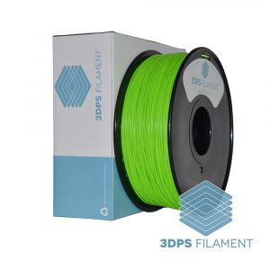 3DPS Fluorescent Green ABS 1.75mm 3D Printer filament 1