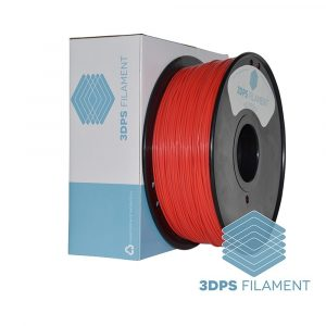 3DPS Fluorescent Red ABS 1.75mm 3D Printer filament 1