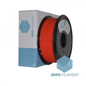 3DPS Fluorescent Red PLA 1.75mm 3D Printer filament 1