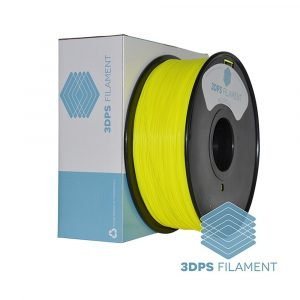 3DPS Fluorescent Yellow ABS 1.75mm 3D Printer filament 1