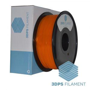 3DPS Translucent Orange PLA 1.75mm 3D Printer filament 1