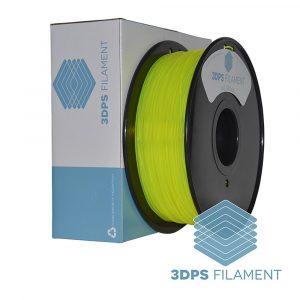 3DPS Translucent Yellow PLA 1.75mm 3D Printer filament 1