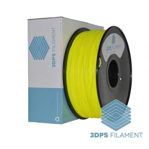 3DPS Yellow ABS 1.75mm 3D Printer filament 1