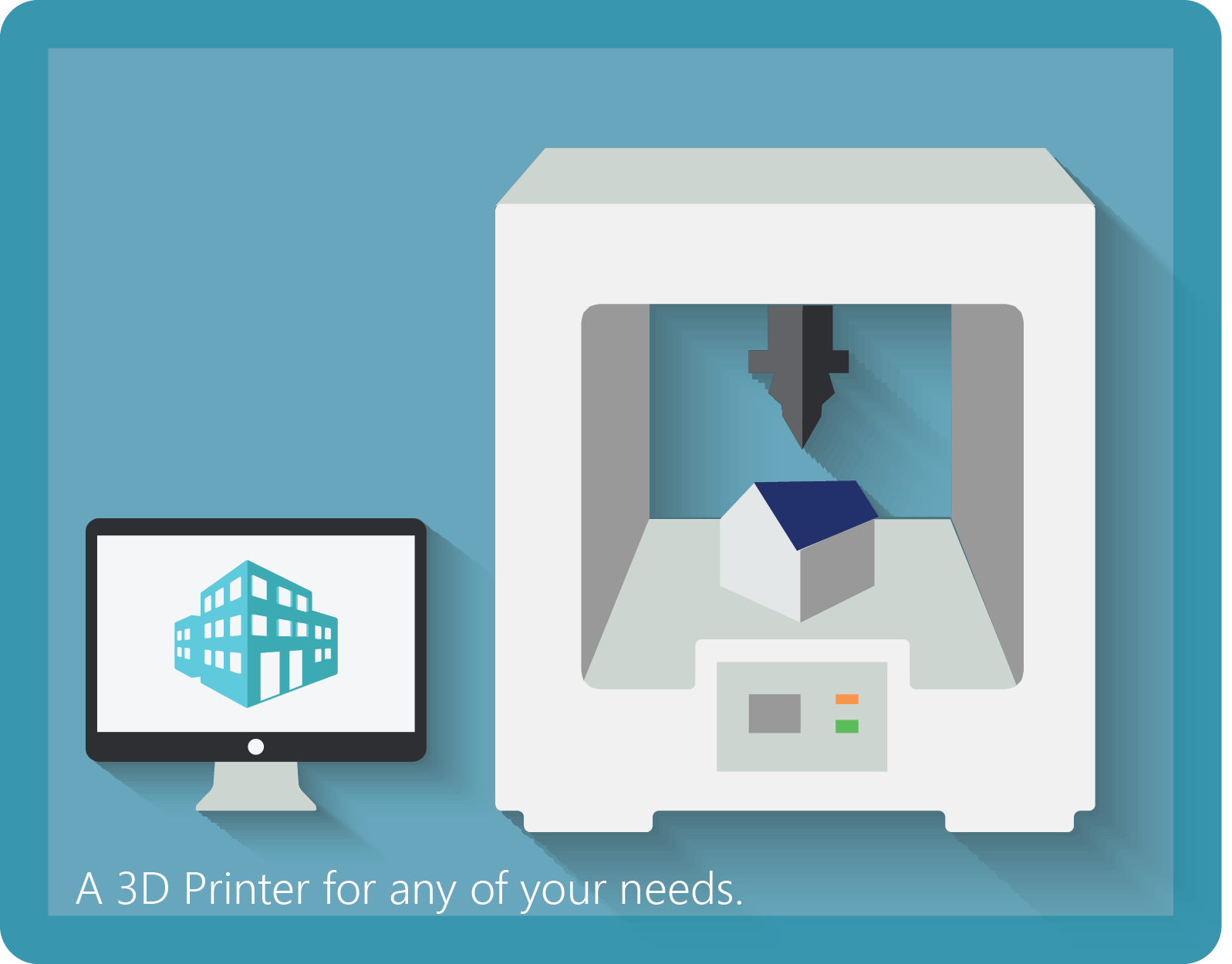 3D Printer 3D Printing Shop