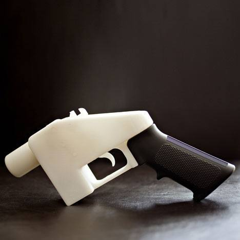 3D Printed gun – A working gun is only a click away