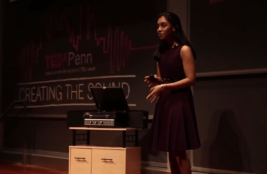 Wharton sophomore Sandhya Jetty talks 3D Printing @ TEDxPenn2013.