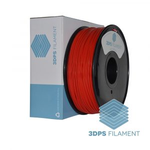 3DPS Red ABS 3.0mm 3D Printer filament 1
